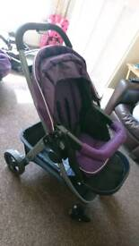 Graco travel system with accessories