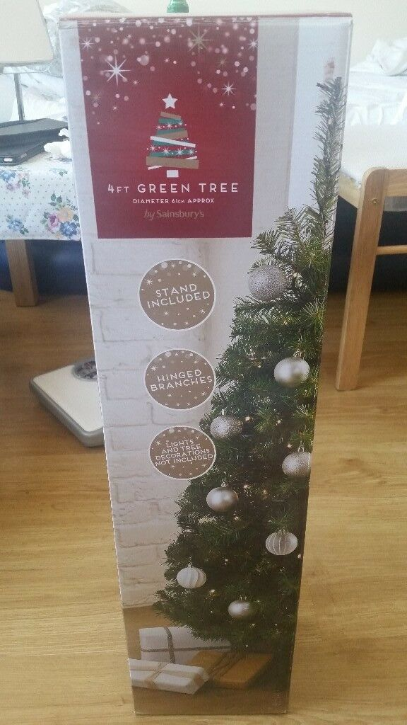 FREE Sainsbury's Christmas Tree 4ft (Collection only) - FREE Sainsbury's Christmas Tree 4ft (Collection Only) In Putney