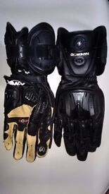 KNOX Handroid Motorcycle Gloves (Size 11 XL)