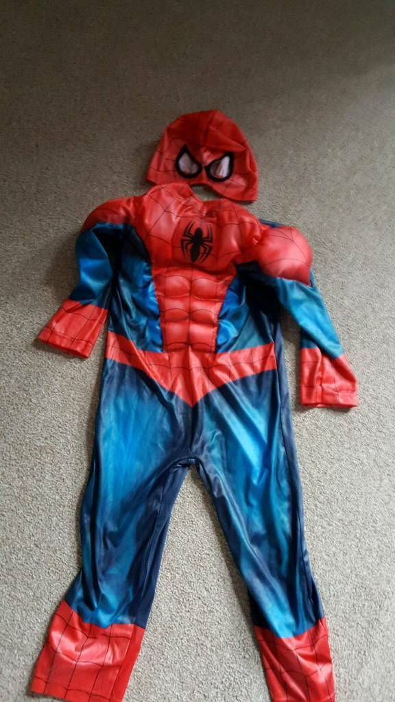 4-5 spider man costume