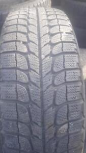 2 PNEUS HIVER - MICHELIN 175 65 14 - 2 WINTER TIRES