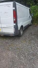 Vauxhall viaro 2900 CDTi LWB