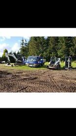 CPG , MINI DIGGER & DRIVER FOR HIRE . NORTHWEST... 07725 510773 / 01925763642