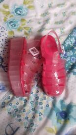 Girls shoes size 3 brand new