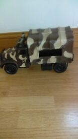 Army toy truck