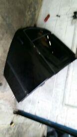 SKODA FABIA VRS 9910 MAGIC BLACK NEAR SIDE REAR DOOR COMPLETE