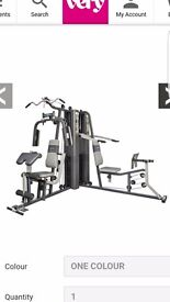 Marcy Dual stack home gym immaculate condition as only used once comes with instruction leaflet