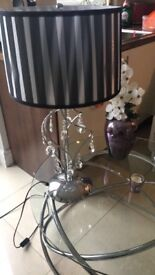 Grey And Black Lamp