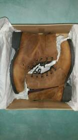 Clarks Leather Boots Women