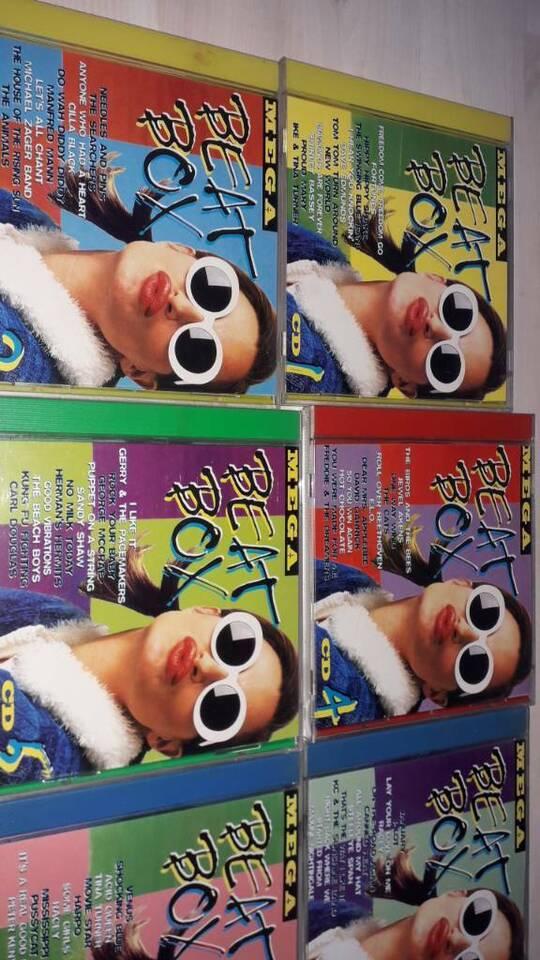 mega beat box 10 cds 1 bis 10 cd Sammlung Auflösung in Reiser