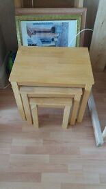Set of 3 matching tables.