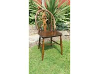 Vintage 60s Ercol chair ( fleur de Lis ) £24 pick up HU12 9QN Thorngumbald