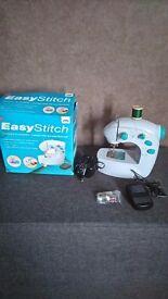 Easy stitch small sewing machine