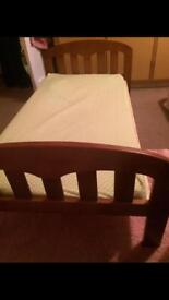 John Lewis cot bed and changer top
