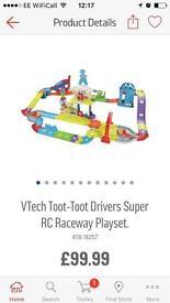 Vetch toot toot drivers super raceway playset