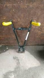 Towbar cycle carrier/rack