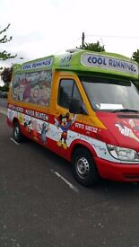 Ice Cream Van. Mercedes Sprinter 311CDI. 2005.