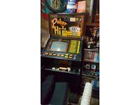 Arcade gaming machine bandit poker machine cabinets parts only breaking