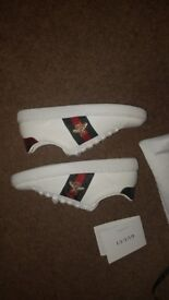 Gucci Ace embroidered sneaker UK 3