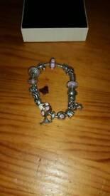 Pandora moments barrel clasp bracelet