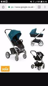 good condition joie travel system £80
