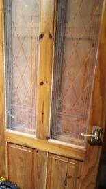 Solid pine 6 panel internal doors