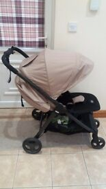 Mamas and Papas Armadillo pushchair in Sand Dune Excellent Condition
