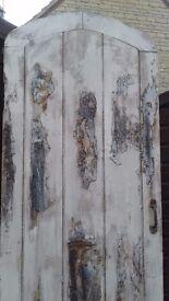 Unique rustic feature door