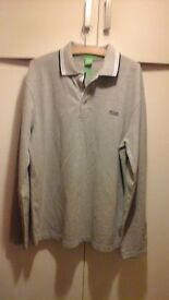 BOSS MENS TOP size large New but does not have tags