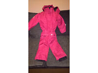 Shredz Boardware Girls Snowsuit Pink Size 104