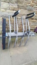 4 cycle tow bar mounted bike carrier / bike rack.