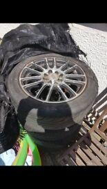 15in alloy wheels