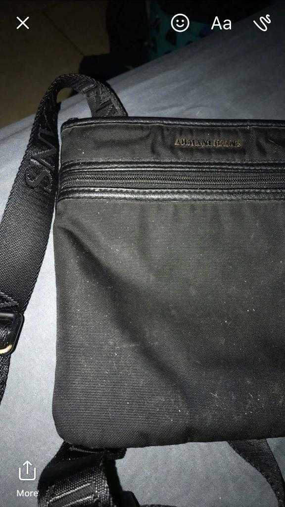 Genuine Armani man bag  7306a14fcecb7