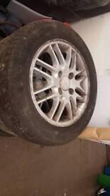 focus alloy wheels 15in