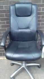 Leather computer chair for sale