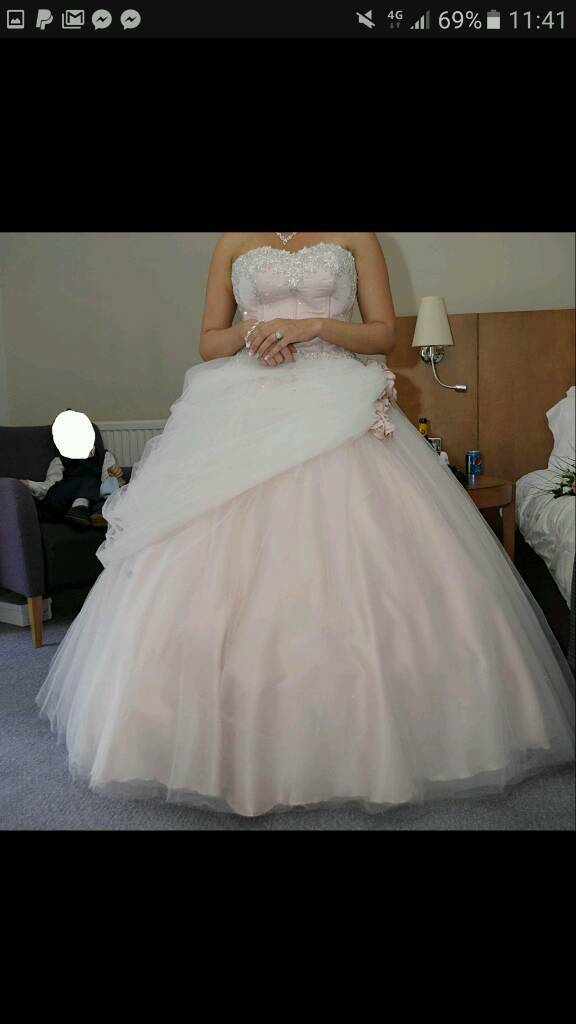 Ronald Joyce wedding dress size 16