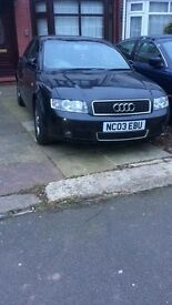 Audi a4 2003 2.0 Petrol *NOW REDUCED* QUICK SALE!!!!!