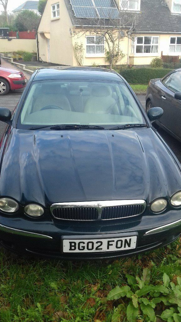 Jaguar X Type 2002 ,2.1 ,Green