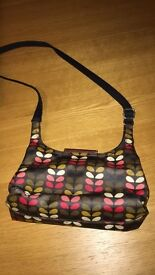 Orla Kiely Mini Sling Multi Stem Bag with Matching Purse