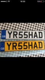 IRSHAD Personalised Cherished Private Number plate Muslim Name Honda Toyota Mercedes Audi Skoda Seat