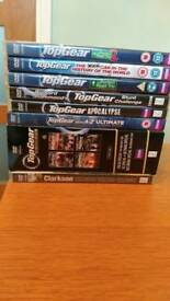 11 Top Gear DVD's