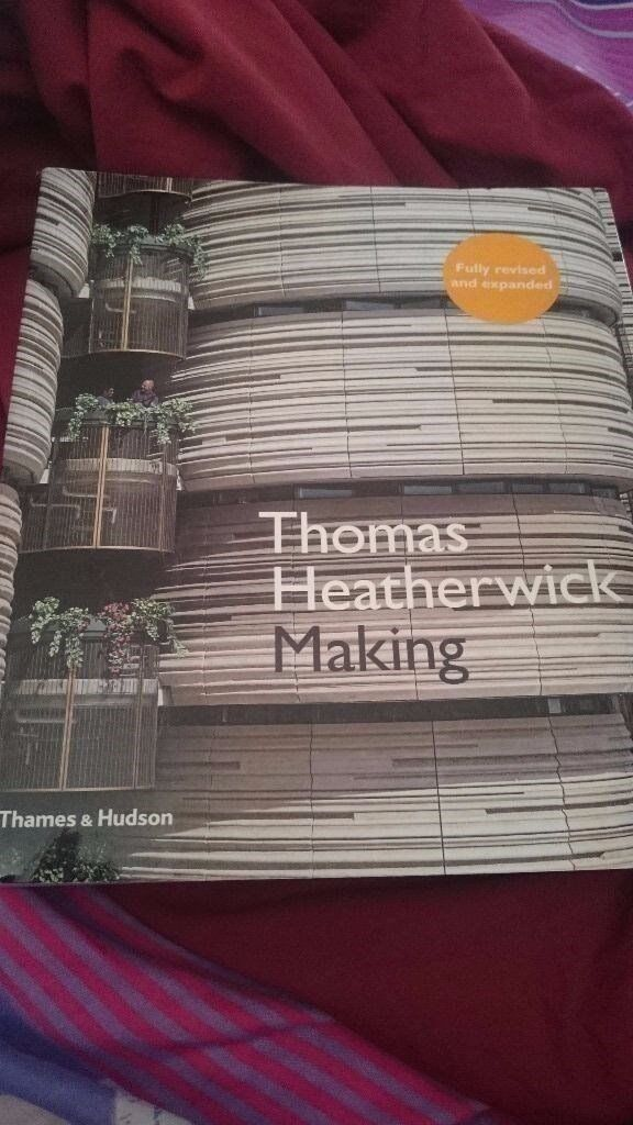 Thomas Heatherwick Making Designer Book