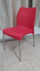 Clearance sale- A set of 4 bright coloured Novella dining chairs