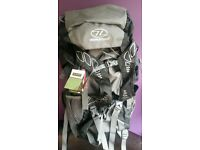 Brand new Highlander Discovery 65L rucksack
