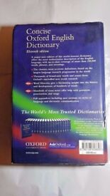 Concise Oxford English Dictionary Eleventh ed