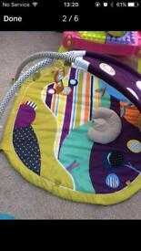 Baby's activity mat