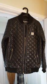 Mens leather look jacket.