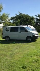 Fantastic converted Volkswagen Transporter T5 camper van for sale £7500