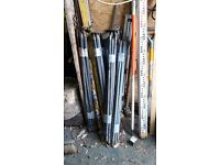 3 x sets of drainage rods with tools