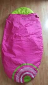 Kids sleeping bag/pod